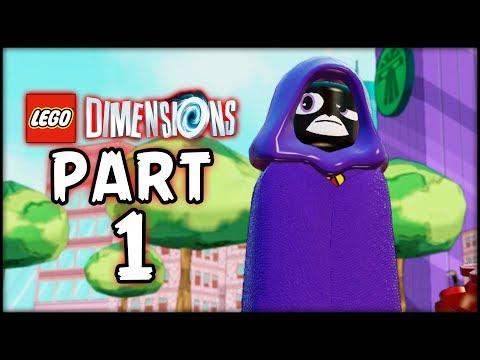 LEGO Teen Titans Go! - Part 1 - Titans Assemble! (Lego Dimensions)