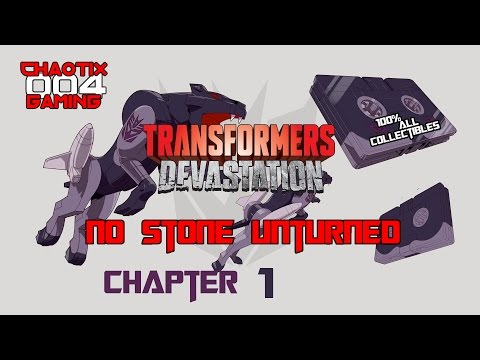 Transformers: Devastation - No Stone Unturned (CHAPTER 1) 100% Collectibles Trophy/Achievement Guide