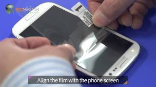 Exskins - How to install screen protector on samsung galaxy S3