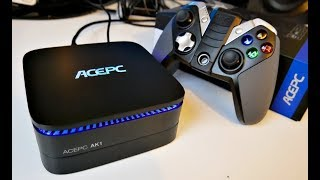 ACEPC AK1 4K Mini PC Intel J3455 - 4GB + 32GB EMMC, WIN 10