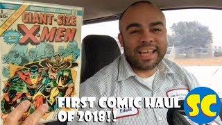 First New Comic Haul of 2018: Action Comics 995, Venom 160, Giant Size X-Men 1 & more!!