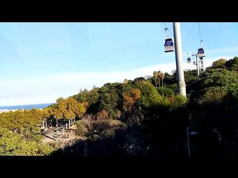 Telefèric de Montjuïc Канатная дорога Монжуик - гондольный подъемник в Барселоне