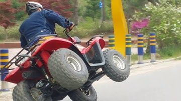 ATV  강촌에서