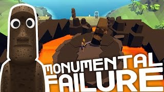 Down The Lava Rapids! - Monumental Failure Gameplay Highlights Part 2