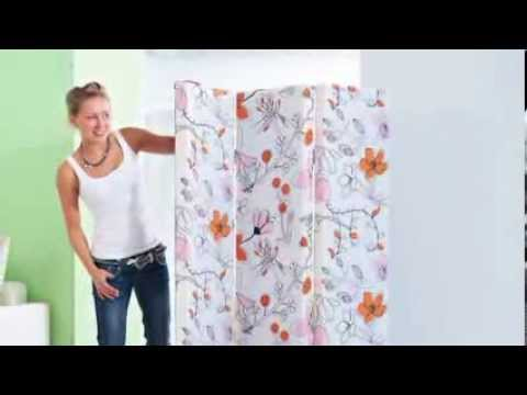 do it yourself paravent selber bauen youtube. Black Bedroom Furniture Sets. Home Design Ideas