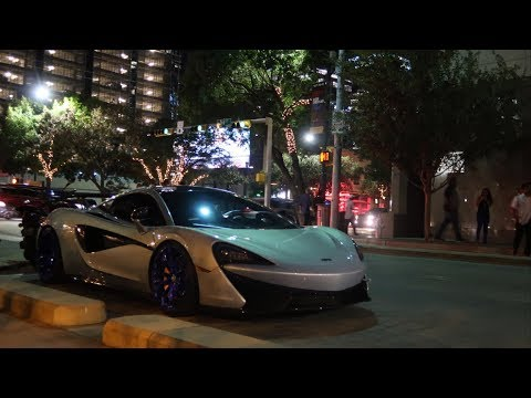 The MOST EXPENSIVE CARS IN THE WORLD All Come To Austin For F1 | Car Spotting in Austin