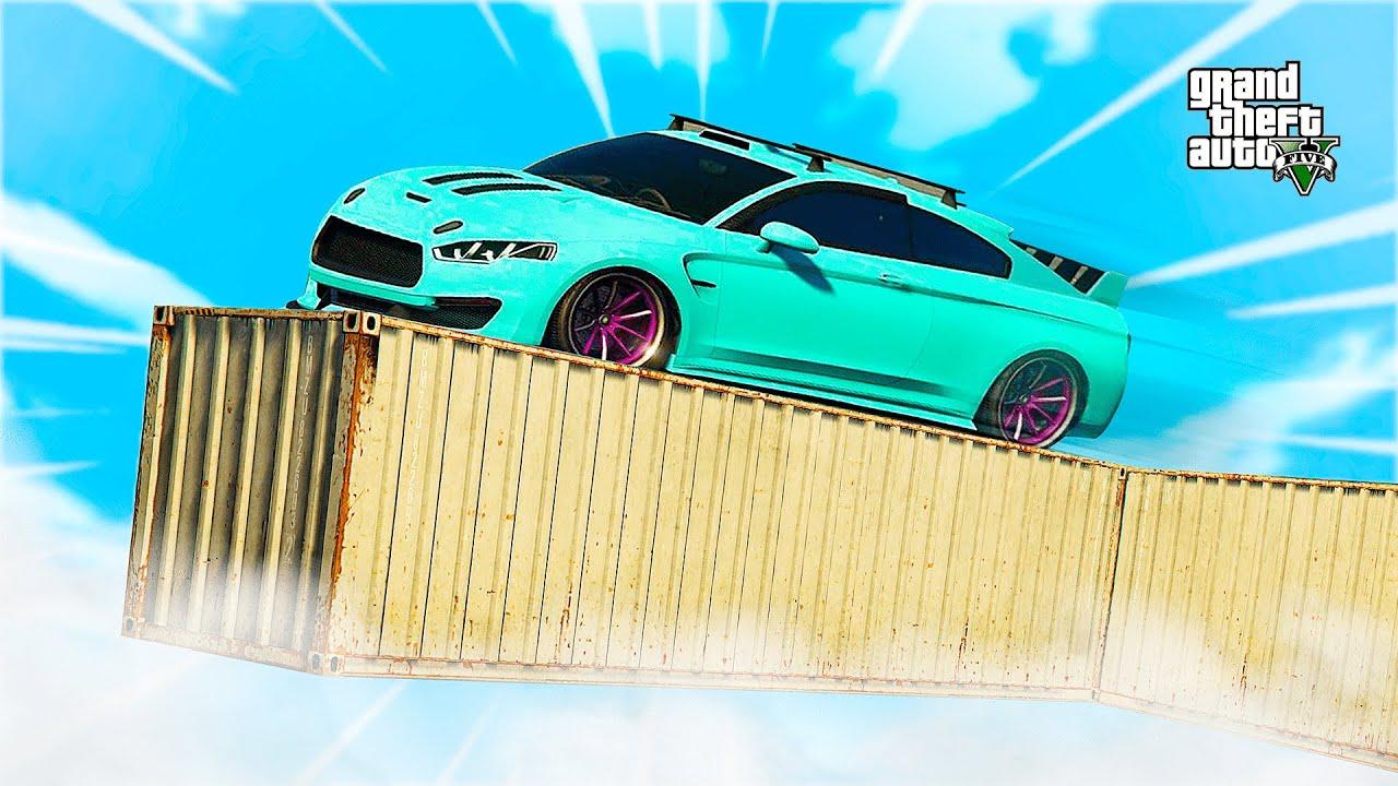 PARKOUR ENTRE CONTENEDORES!! CARRERA GTA 5 ONLINE | Stratus