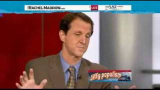 """Rachel Maddow-""""You are parasites"""" she tells Tim Phillips of Americans for Prosperity"""