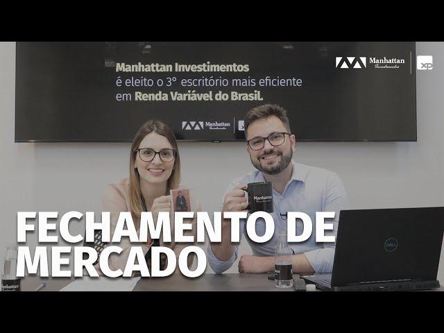 BOLSA EM ALTA, DÓLAR EM QUEDA - ESTÁ CHEGANDO A HORA! FECHAMENTO DE MERCADO - 15/10/2021