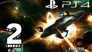Star Trek Online PS4 Gameplay Federation Campaign - Starfleet Part 2 No Commentary HD