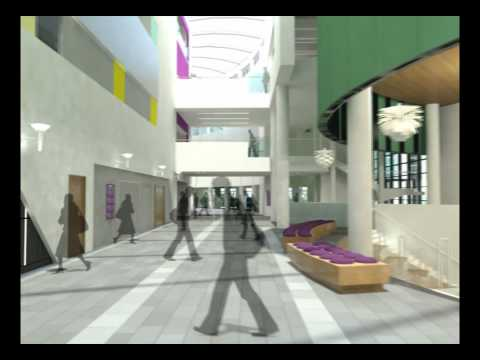 New Campus Building Fly-through - RGU Masterplan