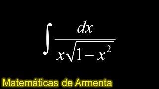 integracion por sustitucion trigonometrica ejemplo 16