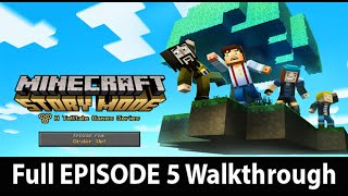 Minecraft Story Mode Episode 5 Full Walkthrough NO Commentary w/ Ending