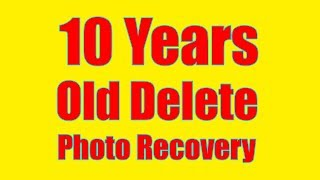 How To Recover 10 Years Old Deleted Photos On Android Phone In Hindi