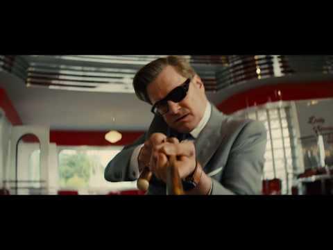 Гарри уничтожает роботов Поппи с помощью Элтона ► Kingsman: Золотое кольцо