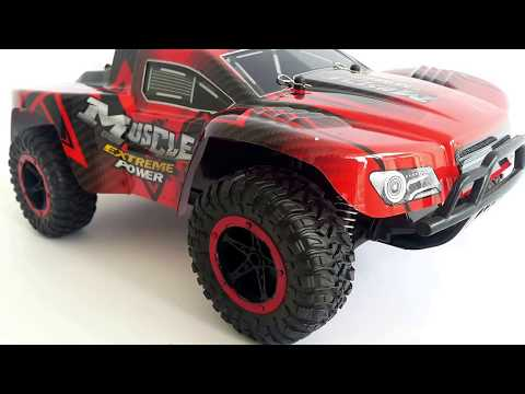Mainan Mobil Remote Control | 2.4Ghz Rc Car Monster Truck Muscle UJ99-2612