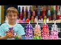 Поделки - Видео для детей МАСТЕР КЛАСС от Саши! Поделки для детей – РЕЗНЫЕ СВЕЧИ ИЗ ВОСКА своими руками