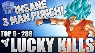 Destiny: Insane Triple Punch! Top 5 Luckiest Kills Of The Week / Episode 288