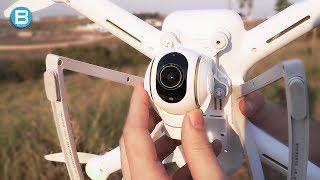 Voando o xiaomi mi drone! ele nÃo brinca em serviÇo!