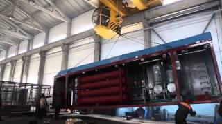 Смотреть видео Монастырищенский котельный завод Энергетик