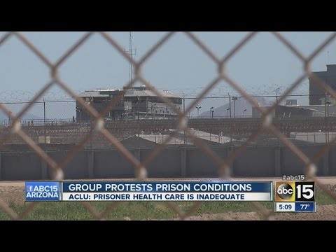 Group protests prison conditions