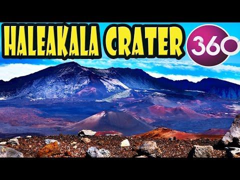 Halealaka Crater in 360 Degree Video