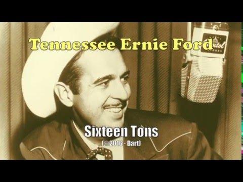 Tennesse Ernie Ford - Sixteen Tons (Karaoke)