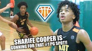 Sharife Cooper is COMING FOR THAT #1 PG SPOT!! | EYBL Hampton Highlights