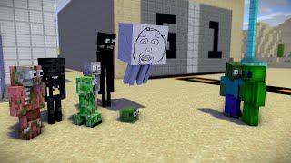 Monster School  Finding Aliens In Minecraft