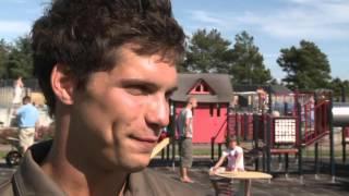 Tv-klip: Anne-Vibeke Rejser - Saltum Strand, børneaktiviteter på Jambo Feriepark