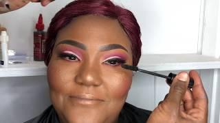 Easy Cut Crease Make Up Tutorial for Hooded Eye