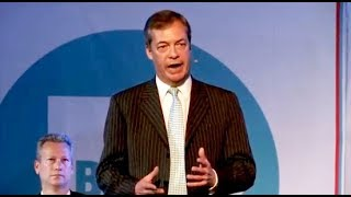 Nigel Farage, Ann Widdecombe: Brexit Party rally in Wales - 30.04.2019