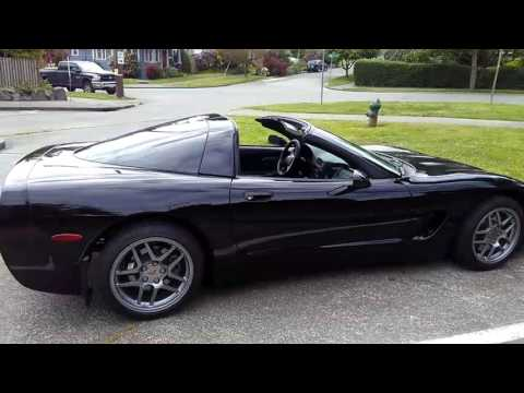 C5 Corvette Coupe w/ roof panel remove (targa top)
