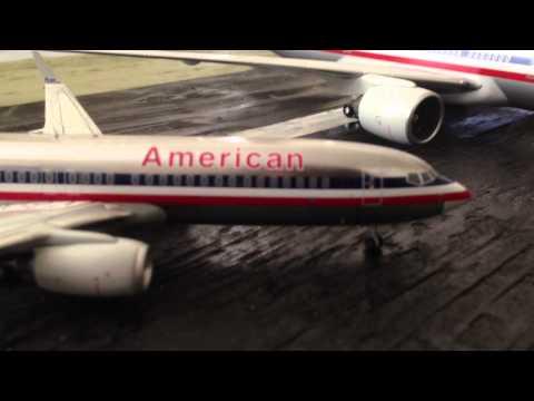 Hogan 1:200 American 777-200 Unboxing/review!