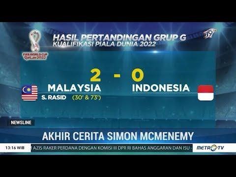 Hasil Kualifikasi Piala Dunia 2022 Timnas Indonesia Menyerah 0 2 Dari Malaysia Youtube