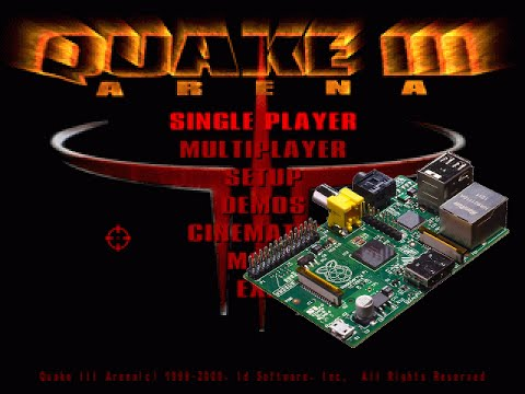 Quake 3 on the Raspberry Pi (with sound)
