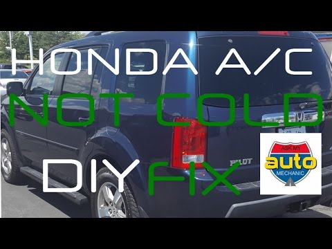 Honda Pilot AC not working | Common AC Relay replacement FIX
