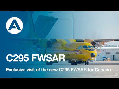 Exclusive visit of the new C295 FWSAR for Canada