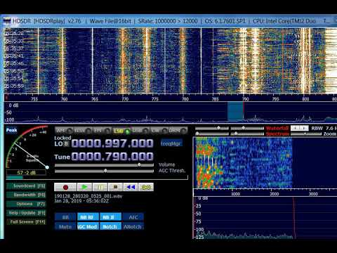 AM DX 790 Radio Reloj Cuba Heard In Finland