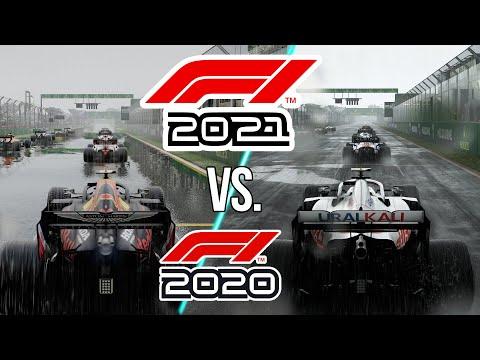 F1 2021 vs. F1 2020 PC 4K Ultra Graphics Comparison