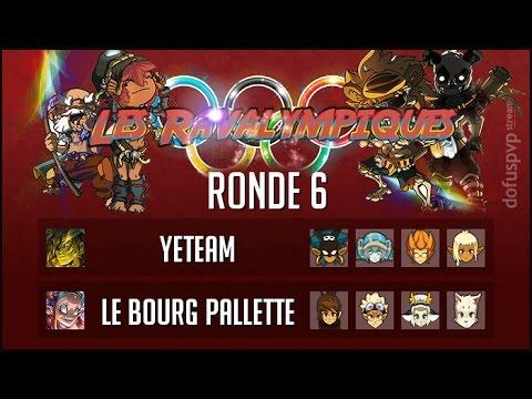 Yeteam VS Le Bourg Pallette 🏆 Les Ravalympiques - Ronde 6
