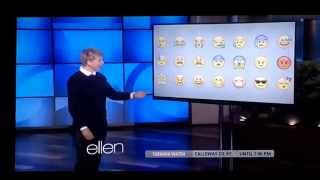 Ellen and emoji icons