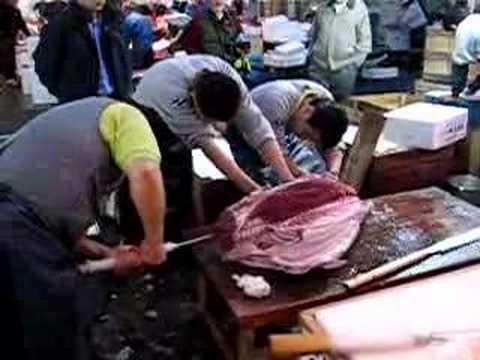 Tokyo Fish Market - Tuna Filet
