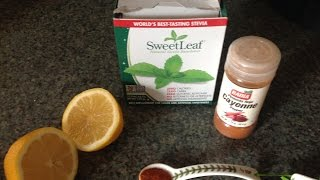 Master Cleanse Recipe for detox and weight loss