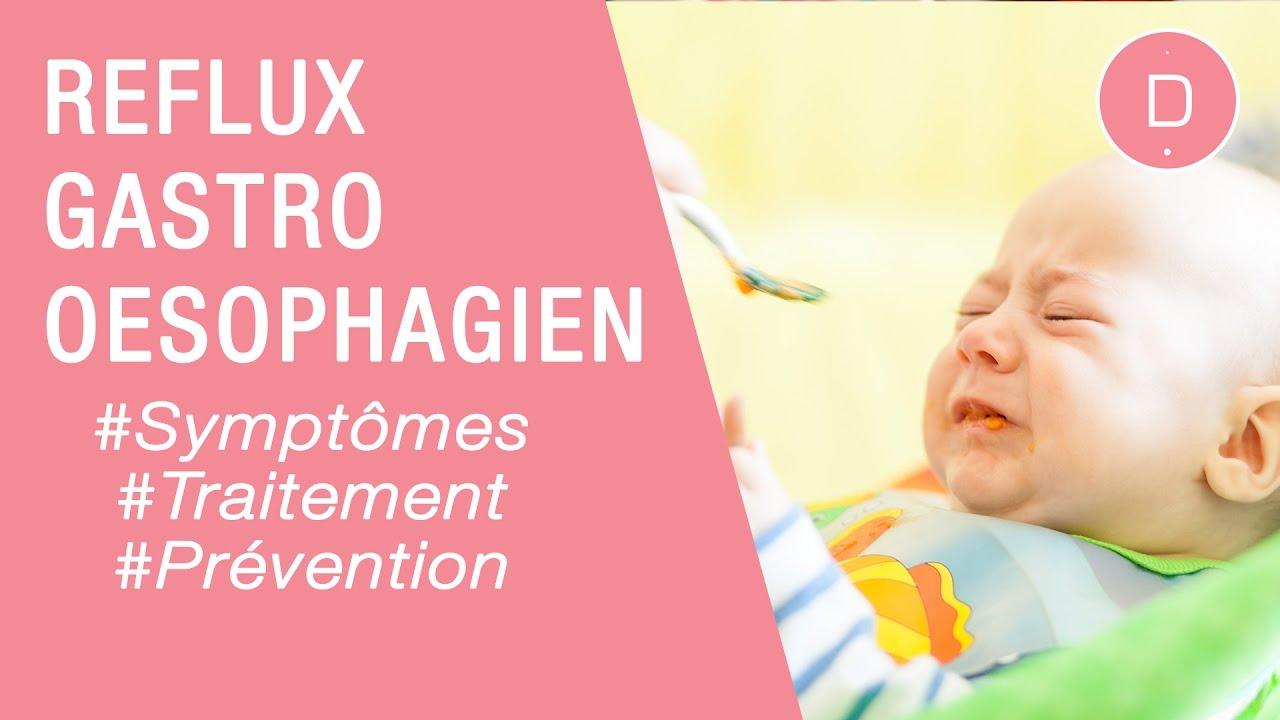 Le reflux gastro-oesophagien du nourrisson - Maladies infantiles