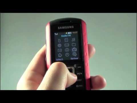 Samsung B2100 Solid - Démonstration, prise en main et test