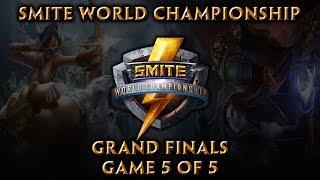 Smite World Championship: Grand Finals (Game 5 of 5)