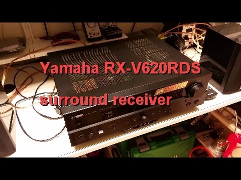 Yamaha RX-V620RDS surround receiver - Repair & troubleshooting exercise