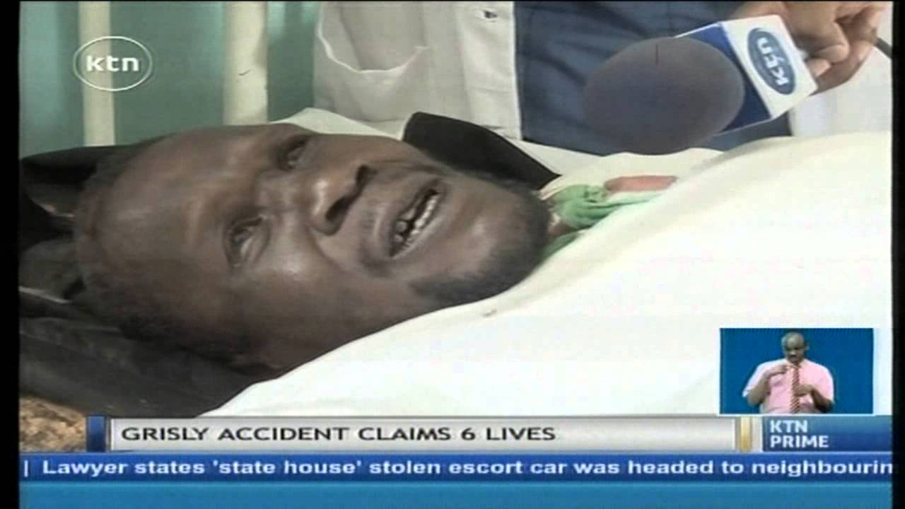 Six people killed in a road accident along kakamega kisumu highway