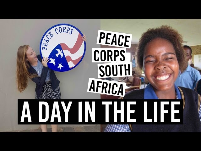 A DAY IN THE LIFE // Peace Corps South Africa
